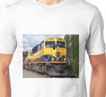Alaska Railroad train engine Unisex T-Shirt