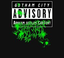 ADVISORY - ARKHAM ASYLUM CONTENT Women's Fitted Scoop T-Shirt