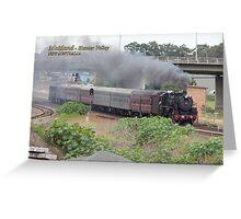 Steam Loco 5917 -Maitland NSW Greeting Card