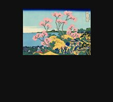 'The Fuji From Gotenyama' by Katsushika Hokusai (Reproduction) Womens Fitted T-Shirt