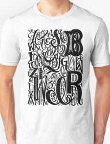 Hand Lettered Type T-Shirt