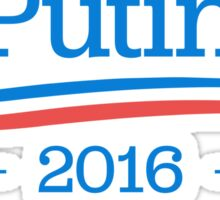 Putin 2016 - Blue on White Sticker