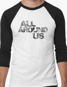 ALL AROUND US Official Title Graphic Men's Baseball ¾ T-Shirt