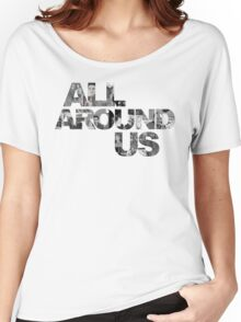 ALL AROUND US Official Title Graphic Women's Relaxed Fit T-Shirt