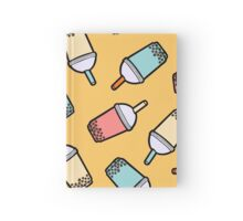 Bubble Tea Pattern Hardcover Journal