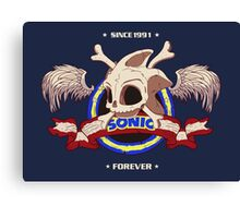 Sonic Forever Canvas Print
