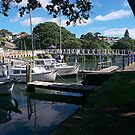 A quiet corner - Milford Marina.......! by Roy  Massicks