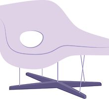 Ray & Charles Eames Chaise Lounge Chair Classic Design by bekindly