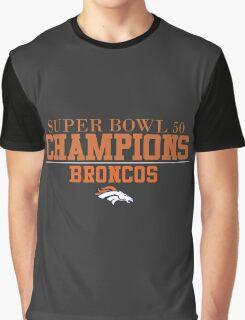 Denver Broncos Super Bowl 50 Champs Graphic T-Shirt