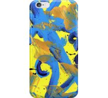 The Strokes inspired painting iPhone Case/Skin