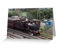 Steam Loco 3265 -East Maitland NSW Australia Greeting Card