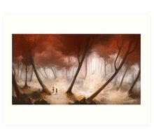 Hansel and Gretel Art Print
