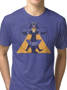 Hylian Man Tri-blend T-Shirt