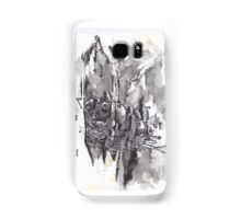 Howls Moving Castle India Ink Samsung Galaxy Case/Skin