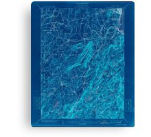 New York NY Schunemunk 148469 1902 62500 Inverted Canvas Print