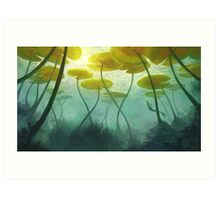 Sea Lilly Art Print