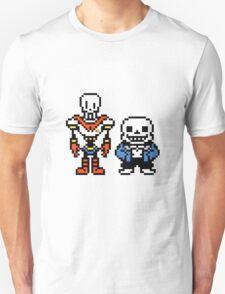 Undertale - Skeleton Brothers Unisex T-Shirt