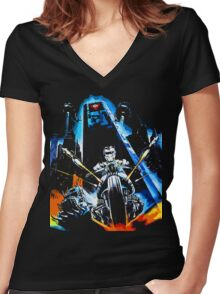 Warrior of the Lost World Women's Fitted V-Neck T-Shirt