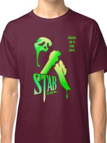 Stab (from the Scream movie) Classic T-Shirt