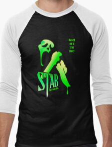 Stab (from the Scream movie) Men's Baseball ¾ T-Shirt