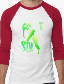 Stab (from the Scream movie) Men's Baseball ¾ T-Shirt