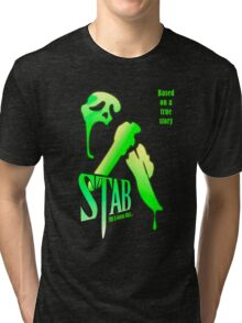 Stab (from the Scream movie) Tri-blend T-Shirt