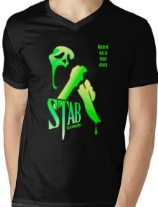 Stab (from the Scream movie) Mens V-Neck T-Shirt