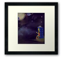 Doctor Who: The Doctor and Martha Framed Print