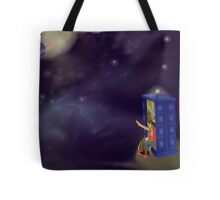Doctor Who: The Doctor and Martha Tote Bag