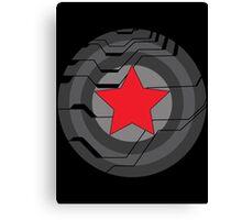 Winter Soldier Shield Canvas Print