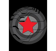 Winter Soldier Shield Photographic Print