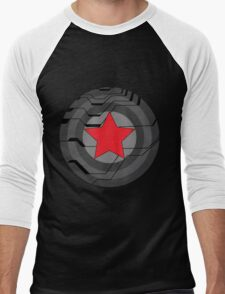 Winter Soldier Shield Men's Baseball ¾ T-Shirt