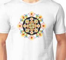 Pastel Carousel on Black  Unisex T-Shirt