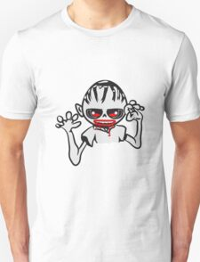 zombie funny creepy blood cool Unisex T-Shirt