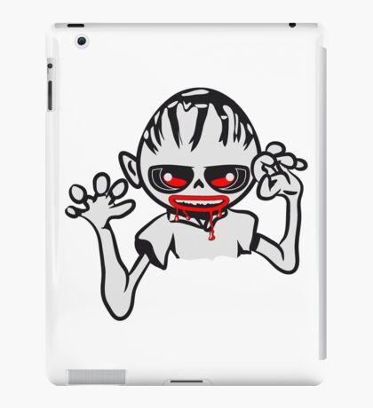 zombie funny creepy blood cool iPad Case/Skin
