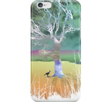 Storm in the outback iPhone Case/Skin