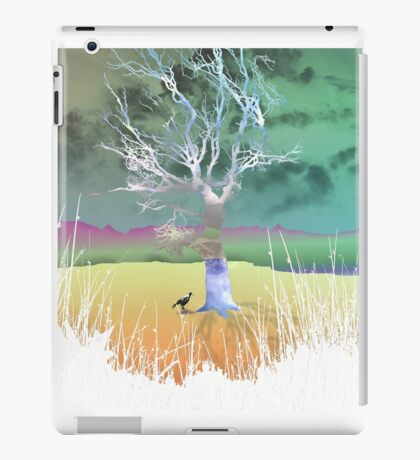 Storm in the outback iPad Case/Skin
