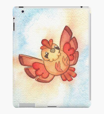 Watercolor Magestic Soaring Through the Sky PIDGEY  iPad Case/Skin