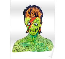 Zombie Bowie Poster
