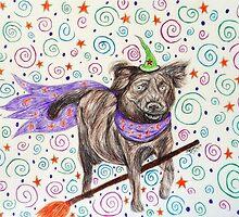 Wizard Dog by Rocker-fan-art