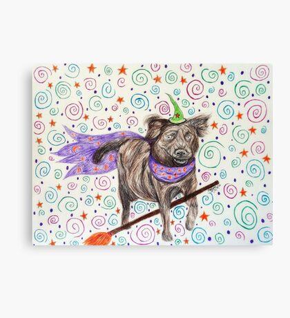 Wizard Dog Canvas Print