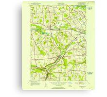 New York NY Camillus 123173 1943 24000 Canvas Print