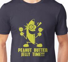 Banana Peanut Butter Jelly Time funny nerd geek geeky Unisex T-Shirt