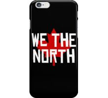 We the North w/maple leaf iPhone Case/Skin