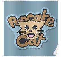 Pancake Cat Poster