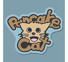 Pancake Cat Photographic Print