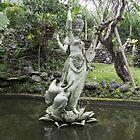 Goddess Sarasvati by Ellanita