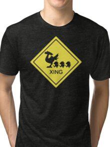 Chocobo Xing Final Fantasy Tri-blend T-Shirt