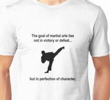 Martial Arts Character Unisex T-Shirt