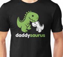 Daddysaurus Dinosaur Dino Unisex T-Shirt